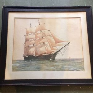 Painting of the Whaleship