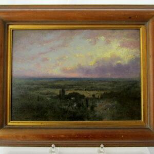George Inness II Oil on Panel