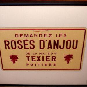 Vintage Wine Advertising Poster